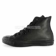 Converse Chuck Taylor All Star Leather [1T405] Casual Black/Black