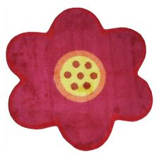 L.A. Rugs Pink Flower Kids Area Rug
