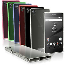 Glossy TPU Gel Case Skin for Sony Xperia Z5 E6603 Soft Cover + Screen Protector