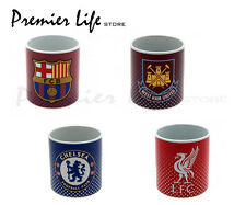OFFICIAL FOOTBALL CLUB - CERAMIC FADED CREST JUMBO MUG SOUVENIR - NEW GIFT XMAS