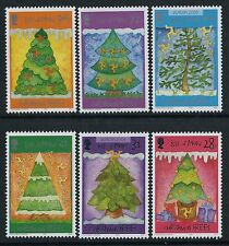 2006 ISLE OF MAN CHRISTMAS SET OF 6 FINE MINT MNH/MUH