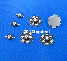 3W Infrared IR 850nm 940nm 60 90 140degree Chip High Power LED Emitter with PCB