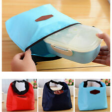 New Picnic Insulated Lunch Bag Boxs Container Cooler Thermal Waterproof Tote Bag