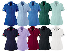 WOMENS LIGHTWEIGHT HEALTHCARE TUNIC FOR NURSES, DOCTORS, CARERS, DENTISTS, VETS