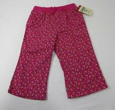 NWT OSH KOSH Baby Girl's Pants Pink with Tiny Flowers Sizes 12 and 18 Months