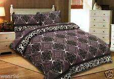 100% Luxury Cotton Printed Doona Cover Set with Pillow Cases 500 Thread Count