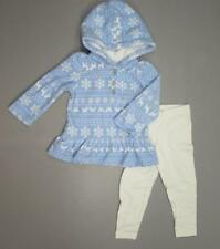 NWT CARTER'S 2 Pc Baby Girl's Hooded Jacket w/Leggings Outfit Sizes 12,18,24 MO