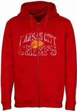 Kansas City Chiefs NFL Mens Go For Two II Full Zip Hoodie Big & Tall Sizes