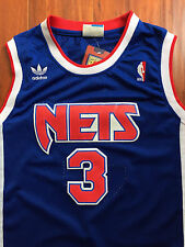 NBA New Jersey Nets Drazen Petrovic Throwback Swingman Sewn/Stitched Jersey