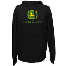 NEW John Deere Black Hoodie Sweatshirt XL, 2X