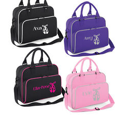 Girls Personalised Ballet Dance Shoulder Bag Free Printing Dancing Accessories