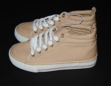 NEW Old Navy Boys Tennis Shoes Size 1, 3 ,4 & 5 Canvas Sneakers School Casual