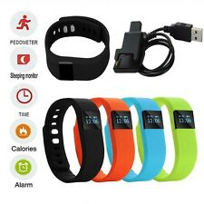 TW64 Bluetooth Smart Watches Smartband Wristband Fitness Tracker For Android IOS