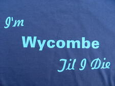 Wycombe Wanderers T-Shirts & Sweat Shirts 4XL & 5XL Personalised Birthday Gift