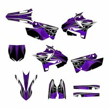 2002 - 2014 YZ125 YZ250 Graphics UFO Restyled kit #4444 Purple Tribal