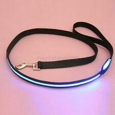 Safety LED Nylon Leash Rope Pets Dog Flashing Harness Belt Light Multi Color M56