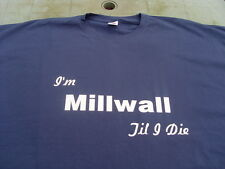 Millwall Lions T-Shirts & Sweat Shirts Inc 4XL & 5XL Personalised Birthday Gift