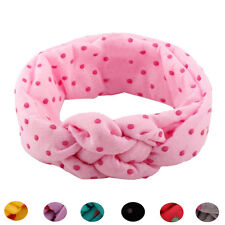 7 Color Cute Baby Girls Kids Toddler Bow Dot Hairband Headband лента для волос