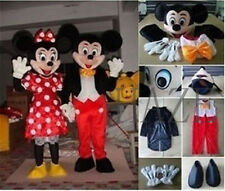 Mickey and Minnie Mouse Adult Mascot Costume Party Clothing Fancy Dress Mascot
