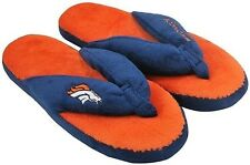 Denver Broncos NFL Licensed Women's Flip Flop Thong Slipper Adult Sizes