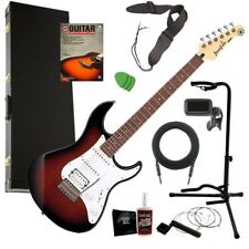 Yamaha Pacifica PAC112J Electric Guitar - Sunburst COMPLETE GUITAR BUNDLE