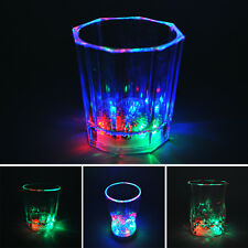 Unique Design Flashing LED Wine Glass Light Up Party Barware Drink Cups Newest