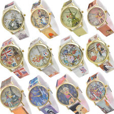 New Fashion Children Girl's Cartoon 3D Analog Quartz Lovely Wrist Watch Rubber