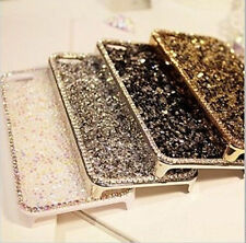 Luxury Bling Glitter Diamond Metal Hard Back Case Cover for iPhone 5 6 6S Plus
