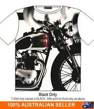 Vintage Triumph Motor Cycle T Shirt Street Fashion Mens Ladies  AU STOCK