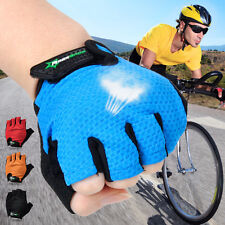 Rockbros Outdoor Sports Half Short Finger Gloves Cycling Bicycle Fingerless