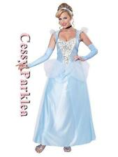 Lady Midnight Princess Cinderella Fairytale Fancy Dress Up Party Outfit Costume