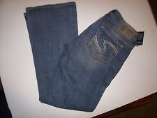 NEW Silver Brand JEANS SUKI Low Rise Boot cut medium wash sz 29 x 30