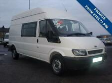 2006 55 FORD TRANSIT 90T 350 2.4TDI LWB HIGH ROOF WELFARE MESS VAN, ONE OWNER AN