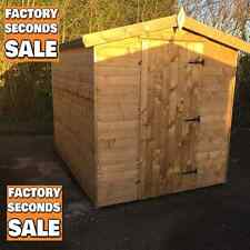 WOODEN GARDEN SHEDS STORAGE WOOD APEX SHEDS FREE DELIVERY TANALISED