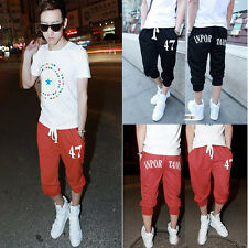 Mens Casual Baggy Hip Hop Dance Jogger Dance Sport Sweat Pants Harem Trousers