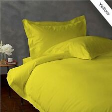 NEW YELLOW 1000TC EGYPTIAN COTTON COMPLETE BEDDING COLLECTION SHEET SET