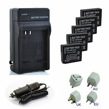 DMW-BLE9 BLG10 BLG10E Battery / Charger for Panasonic DMC-GF5 GF3 GF6 GX7 LX100