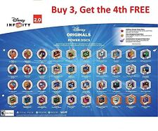 Disney Infinity 2.0 Original Power Discs Choose Your Own. (Compatible with 3.0)