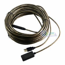 5/10/15/20m USB2.0 Male to Female Active Repeater Signal Booster Extended Cable