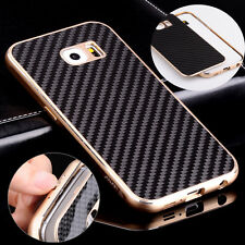 Luxury Aluminum Metal Carbon Fiber Cover Case For Samsung Galaxy Note 5 N920