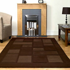 QUALITY LARGE SMALL MEDIUM RUG - BROWN VISIONA CONTEMPORARY MODERN DESIGNS RUGS