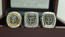 One Set 3 PCS 2010 2012 2014 San Francisco Giants world series championship ring