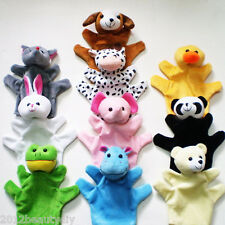 Hand Finger Puppets Parent-Child Toys Baby Educational Toy Animal Plush Toys