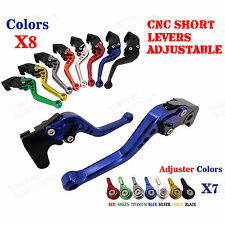 CNC Short Brake Clutch Levers for Triumph SpeedMaster 06-15 Sprint RS 04 05-09