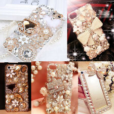 3D Hot Handmade Luxury Bling Jewelled Rhinestone Diamond Crystal Hard Case Cover