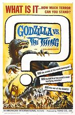 GODZILLA VS. THE THING Movie Poster RARE Monster Movie