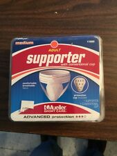 Mueller Adult Athletic Supporter With Conventional Cup New In Package