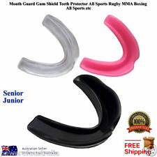 Pro Gum Shield Mouth Guard Adult Mouth Guard All Sports AFL Rugby MMA Boxing NEW
