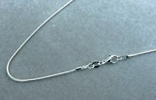 "1.2MM 925 SOLID STERLING SILVER SNAKE CHAIN NECKLACE  16 18 20 22 24 26 28"" INCH"