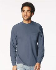 Comfort Colors Mens Garment Dyed Heavyweight Pocket T-Shirt 4410 -C4410
